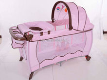 2014 baby playpen/ travel cot / play yard with full function PF (JP504)