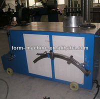 Double head round duct elbow Making Machine