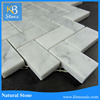 Bianco carrara fish scale mosaic tile