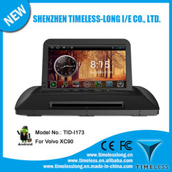 Android 4.0 1080P Touch screen in dash car dvd player for Volvo XC90 with GPS, RADIO,BT, PHONEBOOK, 3 Zone POP