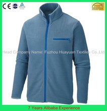 Custom New Blue Men's Jacket OEM Manufacturer mens fashion polar fleece jacket- 7 Years Alibaba Experience