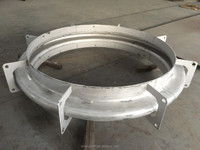 Expansion Joint for Steel Duct Connection