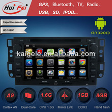 huifei Android4.2 Capacitive multitouch screen Car DVD player support IPHONE MP3 DVD 3G wifi radio OBD2 for Holden Captiva
