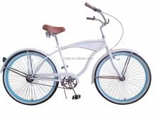 Customized 26 Inch Mans chopper bicycle Beach Cruiser Bike/ beach cruiser bicycle