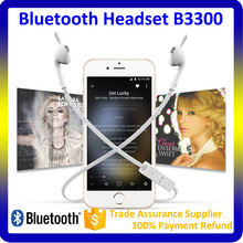 High performance version 4.0 bluetooth headset ear piece sport earphone mp3 player