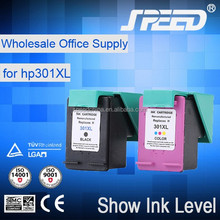 Top Selling Products compatible ink cartridges for hp 301 with New Chip