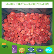 Frozen strawberry (B grade) for jam production