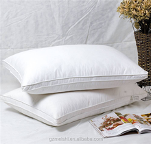 100% cotton fabric pillow with soft microfiber filling
