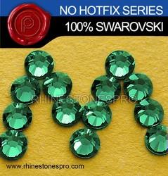 Swarovski Elements Emerald (205) 30ss Flat Back Crystal Non HotFix