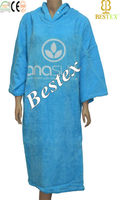 Printed Adult Cheap Extra large Hood Beach towel Poncho Hoodies