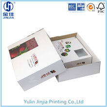 color printed corrugated board packaging box for cherry