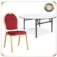 Round Plywood Banquet Table