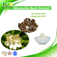 Pure Natural 98% Magnolol, Magnolia Bark Extract