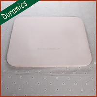 Rectangle ceramic pizz plate/microwave pizza tray/pizza serving plate
