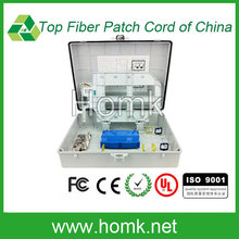 Fiber terminal box PLC fiber optic splitter / wall mounted PLC splitter terminal box