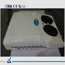 KT-E20 DC battery powered 12v 24v air conditioner rooftop unit for truck cabin, engineering machinery, construction equipment