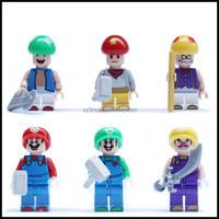 OEM star wars plastic mario figure,custom star wars mario figure,pvc star wars action figures