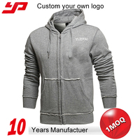 2015 hot sale Custom own Logo Men Pullover fashion hoodie with sublimation printing