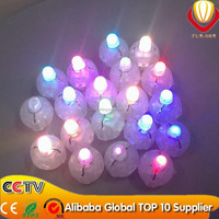 hot sale factory direct lower price wedding & party decoration rainbow neon flashing led balloon light/light up balloon