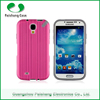 Competitive Price Armor Hybrid 2 in 1 dual layer case with stand function PC+Silicon cace cover for Samsung Galaxy S4 combo case