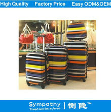Modern Artistic Feeling Dot Spacious ABS+PC Vision Spinner Trolley Bags