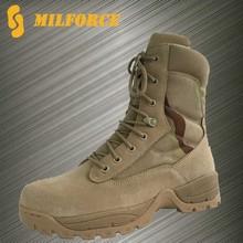 Tela de nylon camuflaje ejército buena calidad botas militares del desierto botas