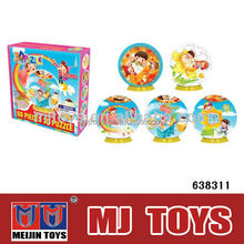 Custom 3D paper puzzle toy game 3d jigsaw puzzle for sale