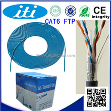 high quality Ethernet cable 305m FTP HDPE 12 years warranty systimax cat6 cable