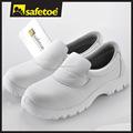 Cozinha branca sapatos de segurança l-7019