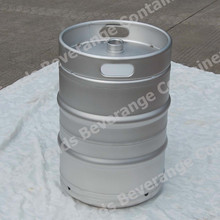 US 1/2 bbl stainless steel beer keg with American sankey