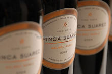 Special Wine Labels with Special Texture