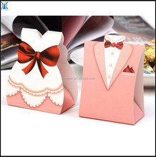 Cheap Paper Gift Wedding Favors Candy Boxes For Sale