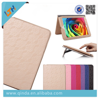 2015 Newest Smart Tablet Mona Lisa waterproof pu Case Cover With Stand For Ipad 360 Degree Rotating Case