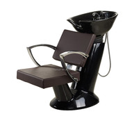 2015 Old styled Hairdressing chair with fiber glass base/Durable Hair salon wash chairs with ceramic basin