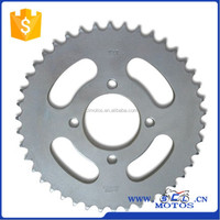 SCL-2012090219 Motorcycle Rear Sprocket for SUZUKI AX100 Parts