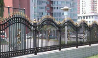 Wire Mesh Fence, Faux Wrought Iron Fence, Temporary Fence