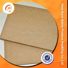 Lower Price Plain Mdf Sheet For Sale