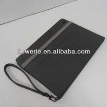 FL3322 2014 China manufacturer stand wallet leather flip case with hand strap for ipad 3