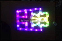 waterproof gift box led motif light trend color changing led christmas lights