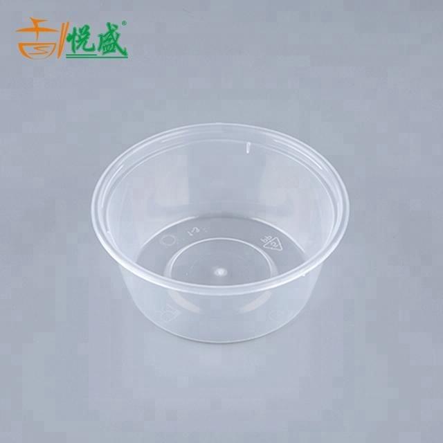 8 oz bol rond en plastique à emporter jetable garder les aliments chauds conteneurs