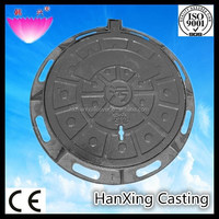 OEM water meter cast iron manhole cover with frame price