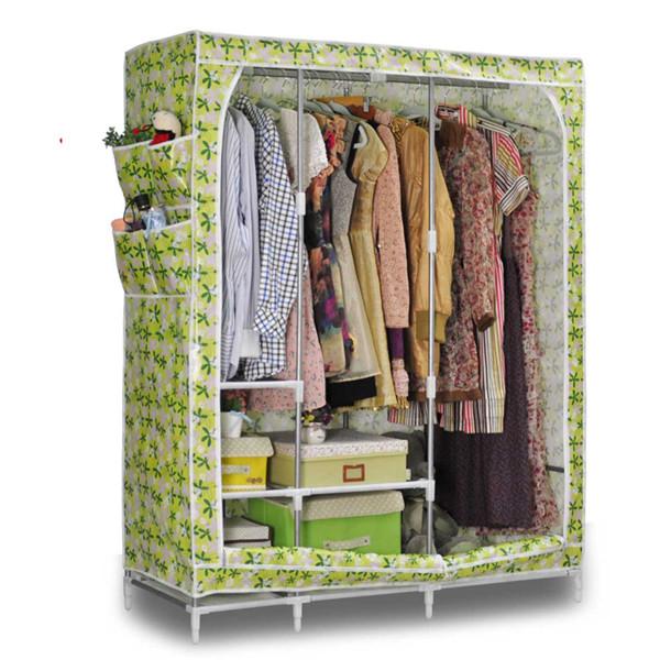 armario de almacenamiento organizador portátil estante de la ropa ...