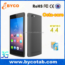 lowest price 5.0inch cheap cellphone 3G Android smartphone / mtk 6592 octa core phone