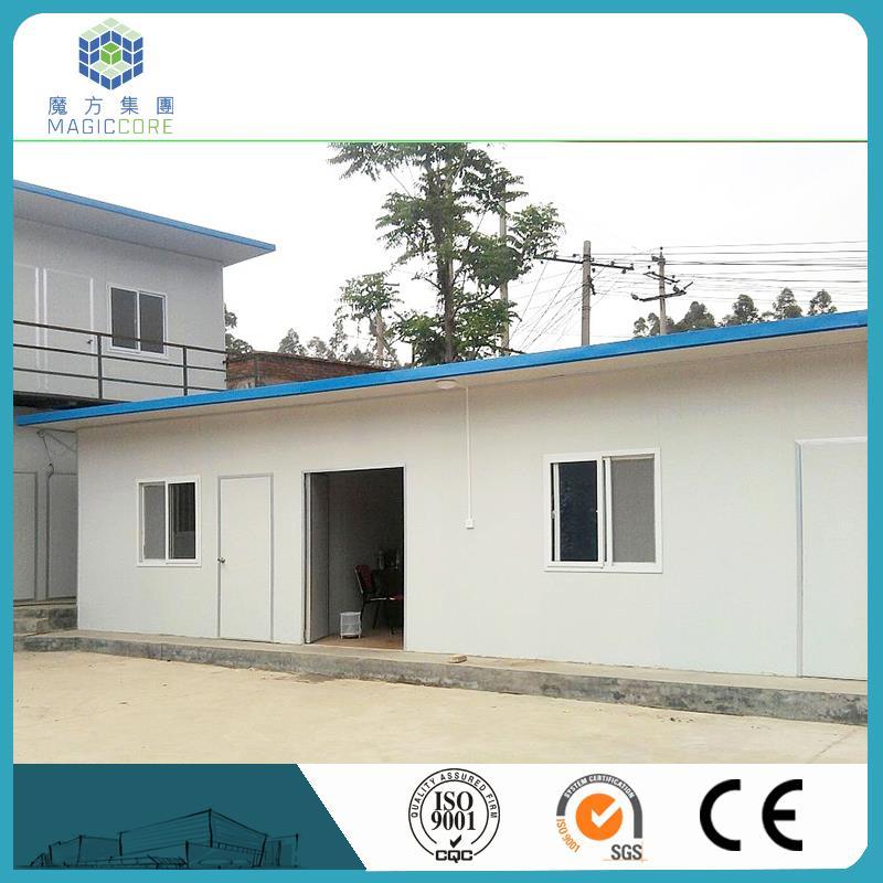 Iyi tasarlanmış sandviç panel evi döken konteyner tasarım lowes prefabrik evler çelik modüler ev