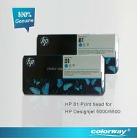 Genuine HP81 Printhead & cleaner for Printer HP Designjet 5000/5500