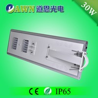 30W 2015 new product waterproof integrated all in one solar led street light solar garden lights moon lights