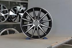 Japanese car with 10 spoke aluminum alloy wheel /hub