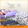 100% cotton twill reactive printed fabric for bedding set