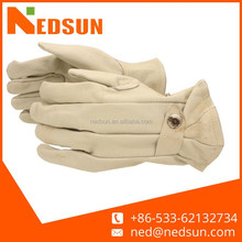 Heat resistant Yellow lcar driving gloves