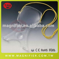 New Style Acrylic Lens With Adjustable Strap Hands-Free Magnifier